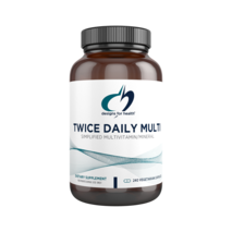 Twice Daily Multi™ 240 vegetarian capsules